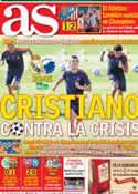Portada diario AS del 2 de Octubre de 2013