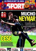 Portada diario Sport del 2 de Octubre de 2013