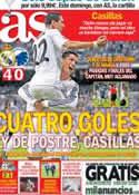 Portada diario AS del 3 de Octubre de 2013