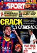 Portada diario Sport del 3 de Octubre de 2013