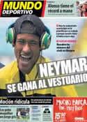 Portada Mundo Deportivo del 3 de Octubre de 2013