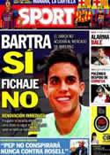 Portada diario Sport del 4 de Octubre de 2013