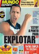 Portada Mundo Deportivo del 4 de Octubre de 2013