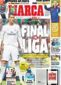 Portada diario Marca del 5 de Octubre de 2013