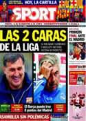 Portada diario Sport del 5 de Octubre de 2013