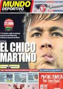Portada Mundo Deportivo del 5 de Octubre de 2013