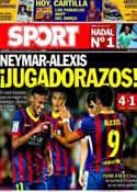 Portada diario Sport del 6 de Octubre de 2013