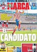 Portada diario Marca del 7 de Octubre de 2013