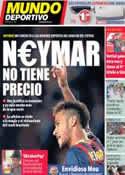 Portada Mundo Deportivo del 7 de Octubre de 2013