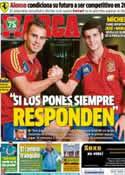 Portada diario Marca del 8 de Octubre de 2013