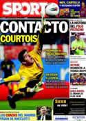 Portada diario Sport del 8 de Octubre de 2013