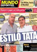 Portada Mundo Deportivo del 8 de Octubre de 2013