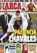 Portada diario Marca del 9 de Octubre de 2013