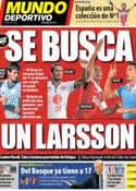 Portada Mundo Deportivo del 9 de Octubre de 2013