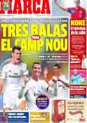 Portada diario Marca del 10 de Octubre de 2013