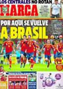 Portada diario Marca del 11 de Octubre de 2013