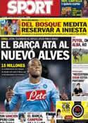 Portada diario Sport del 11 de Octubre de 2013