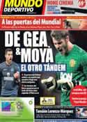 Portada Mundo Deportivo del 11 de Octubre de 2013