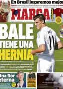 Portada diario Marca del 12 de Octubre de 2013