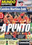 Portada Mundo Deportivo del 12 de Octubre de 2013
