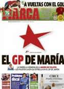 Portada diario Marca del 13 de Octubre de 2013