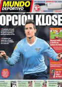 Portada Mundo Deportivo del 13 de Octubre de 2013