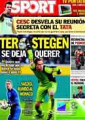 Portada diario Sport del 14 de Octubre de 2013