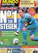 Portada Mundo Deportivo del 14 de Octubre de 2013