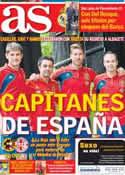 Portada diario AS del 15 de Octubre de 2013