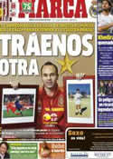 Portada diario Marca del 15 de Octubre de 2013