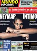 Portada Mundo Deportivo del 15 de Octubre de 2013