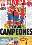 Portada diario Marca del 16 de Octubre de 2013