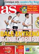 Portada diario AS del 17 de Octubre de 2013