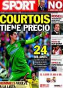 Portada diario Sport del 17 de Octubre de 2013