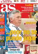 Portada diario AS del 18 de Octubre de 2013