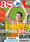 Portada diario AS del 19 de Octubre de 2013