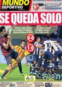 Portada Mundo Deportivo del 20 de Octubre de 2013