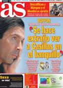 Portada diario AS del 21 de Octubre de 2013