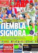 Portada diario Marca del 22 de Octubre de 2013