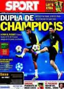 Portada diario Sport del 22 de Octubre de 2013