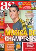 Portada diario AS del 23 de Octubre de 2013