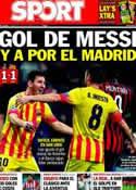 Portada diario Sport del 23 de Octubre de 2013
