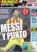 Portada Mundo Deportivo del 23 de Octubre de 2013