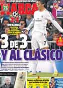 Portada diario Marca del 24 de Octubre de 2013