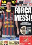 Portada Mundo Deportivo del 24 de Octubre de 2013