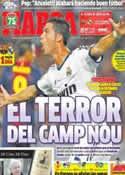 Portada diario Marca del 25 de Octubre de 2013