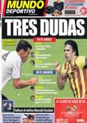 Portada Mundo Deportivo del 25 de Octubre de 2013