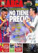 Portada diario Marca del 26 de Octubre de 2013