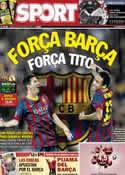 Portada diario Sport del 26 de Octubre de 2013