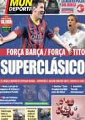 Portada Mundo Deportivo del 26 de Octubre de 2013